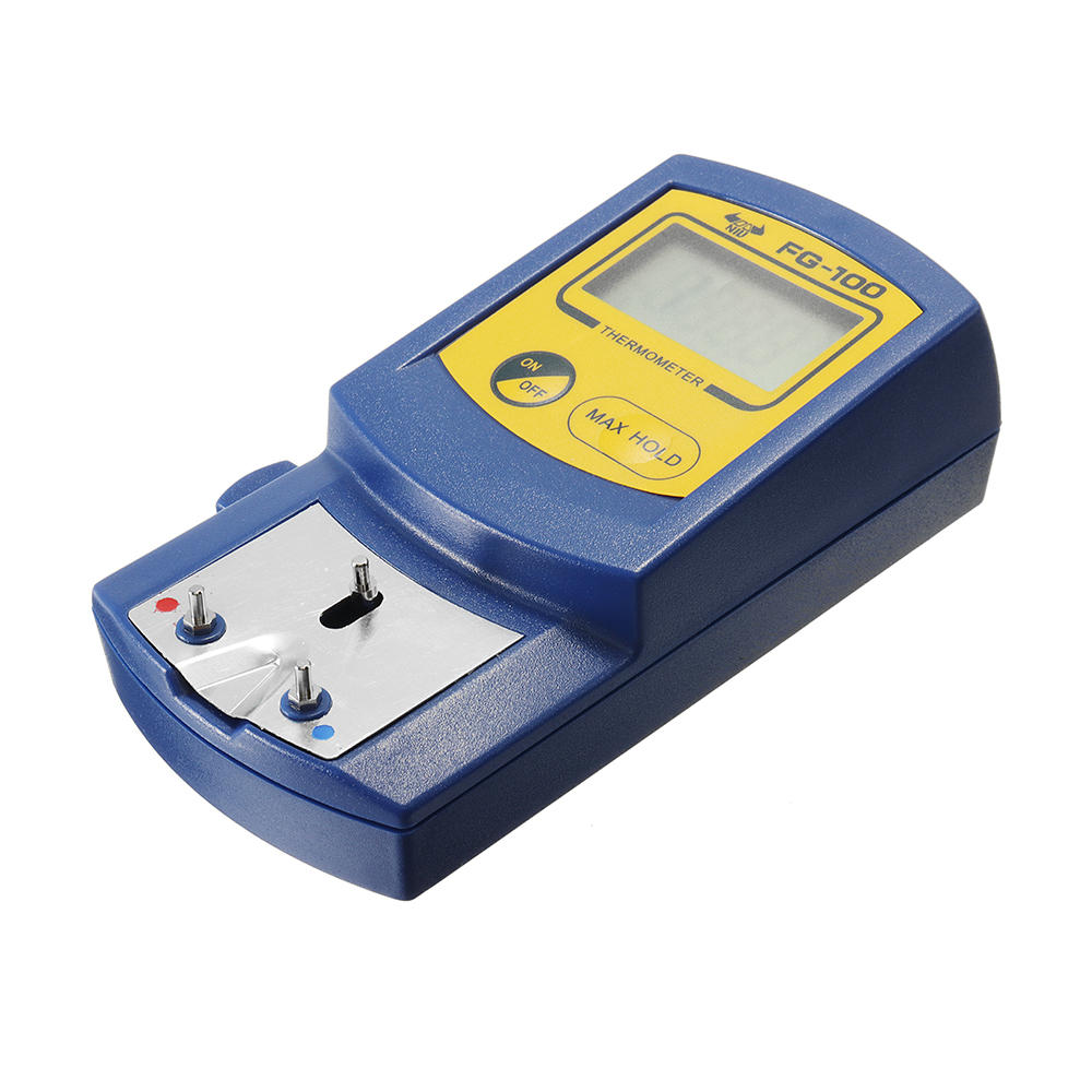 FG-100 Soldering Iron Tip Thermometer Temperature Tester 0-700℃ LCD Display