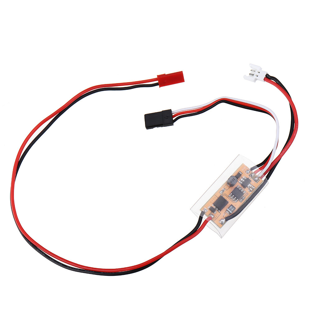 3 7V 1S 12A Brushed ESC With BEC 5V 600mA Boost For 720 / 820 / N20 / N30  Coreless Motor RC Airplane