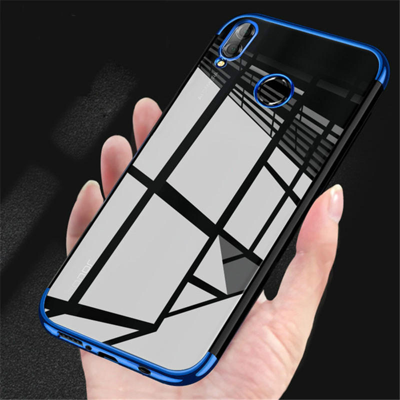 best sneakers 9ee04 2fa8a Bakeey Plating Soft TPU Back Cover Protective Case for Huawei Honor 8X MAX