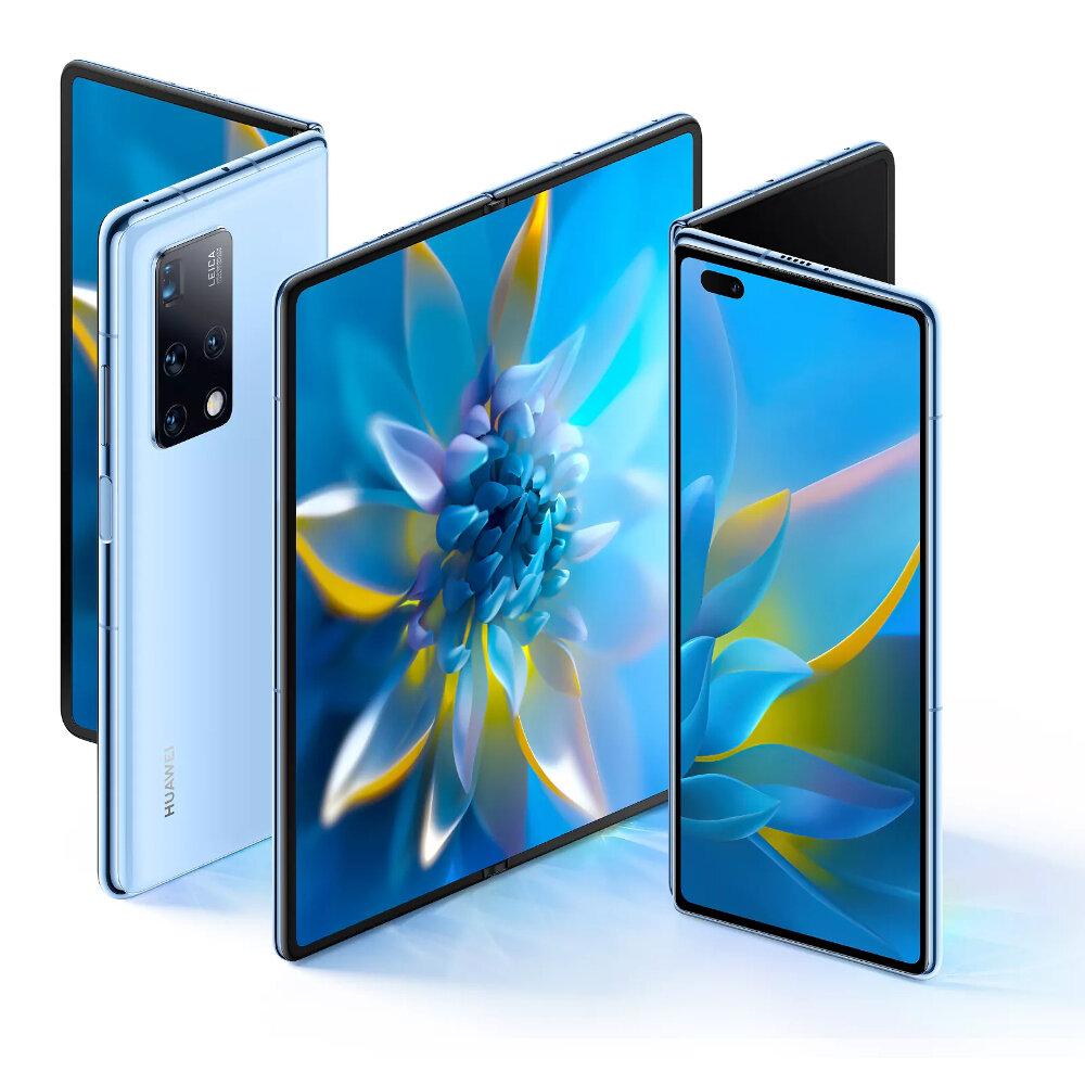HUAWEI Mate X2 CN Version Folded Display 50MP Quad Rear Camera 8GB 256GB 55W Fast Charge NFC Kirin 9000 Octa Core 5G Smartphone