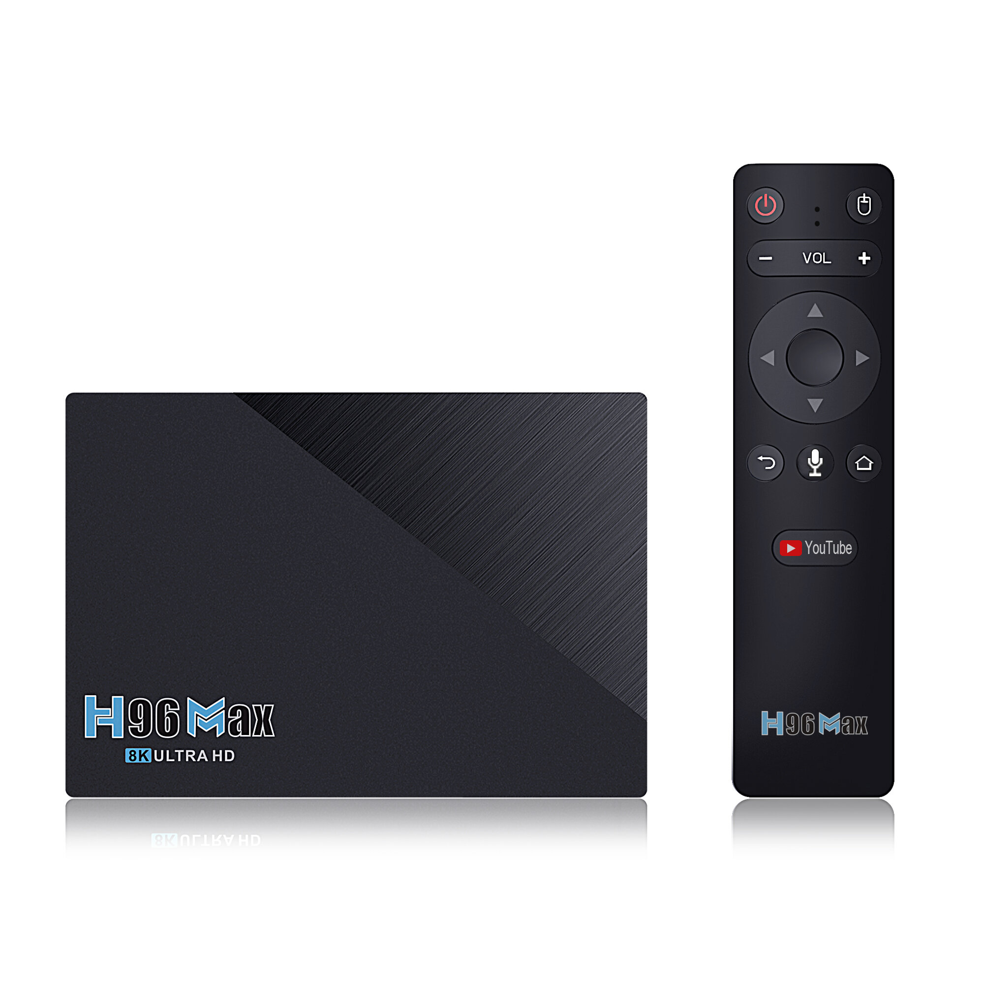 Banggood coupon: H96 MAX RK3566 SDRAM 8GB DDR3 64GB eMMC ROM Android 11.0 8K UHD TV Caixa bluetooth 4.0 5G Wifi 1000M LAN H.265 VP9 Decod