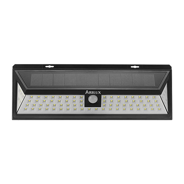 ARILUX® PL-SL 12 Solar Power 7W 80 LED PIR Sensor Light Outdoor Waterproof IP65 Wide Angle Wall Lamp