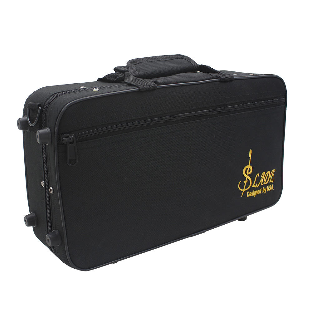 SLADE Foam Padded Thicken Oxford Cloth Bag Clarinet Box Case with Handle Strap Protection Parts Coupon 9db38e