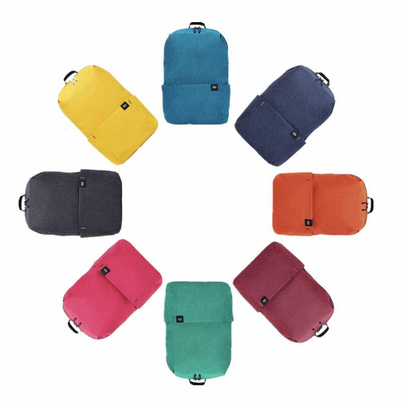मूल Xiaomi 10L बैग बैग महिला पुरुष खेल बैग स्तर 4 जल विकर्षक यात्रा कैम्पिंग बैग