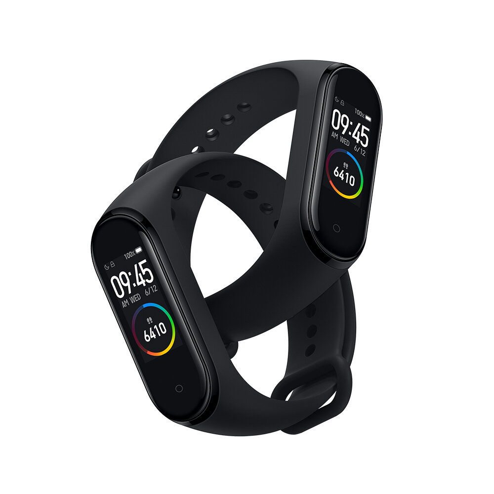 Asli xiaomi Mi band 4 amoled layar warna gelang bluetooth 5.0 135 mAh baterai kebugaran tracker smart watch Global Version