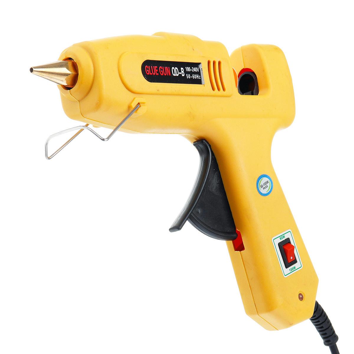 60W / 100W Riscaldatore applicatore per colla Silicone Hot Melt Riparazione fai da te Strumento elettrico Dual Power