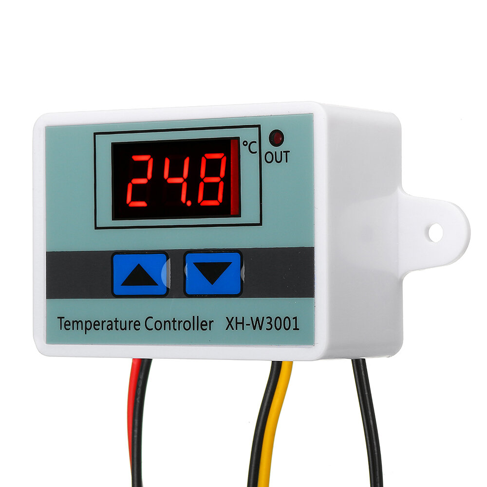 XH-W3001 Digital Microcomputer Temperature Controller Thermostat Temperature Control Switch With Display