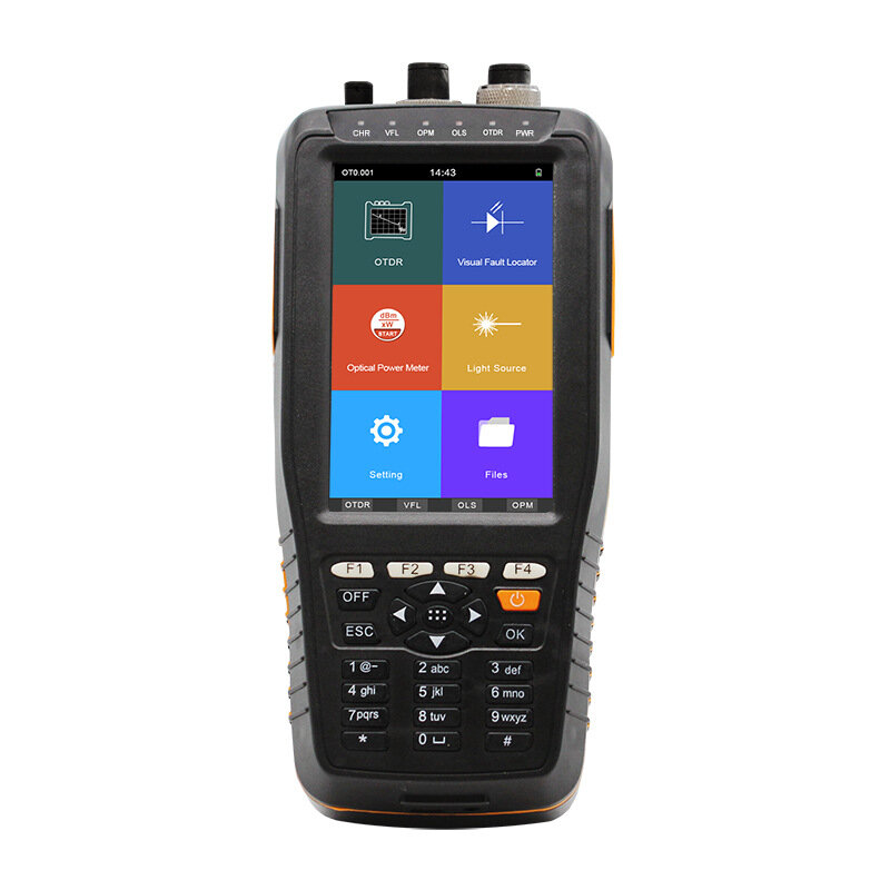 New S290 Smart OTDR 1310/1550nm with VFL/OPM/OLS Touch Screen 0-60km Optical Time Domain Reflectometer
