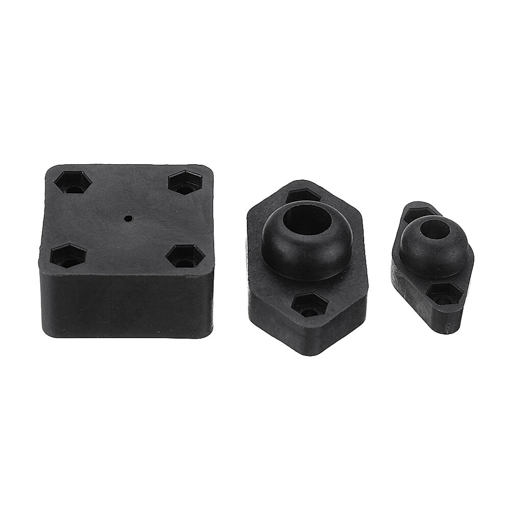 Machifit 5/8/8.5mm Linear Rail Shaft Support Horizontal Vertical Support CNC Parts for Linear Shaft Optical Axis