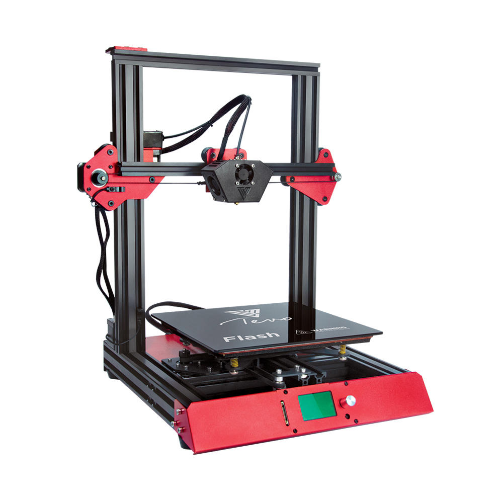 TEVO® 50% vorgefertigter Flash 3D-Drucker Satz mit Unterstützung für zwei Z-Achsen / BL-Touch-Version mit TitanExtruder / Volcano-Düse