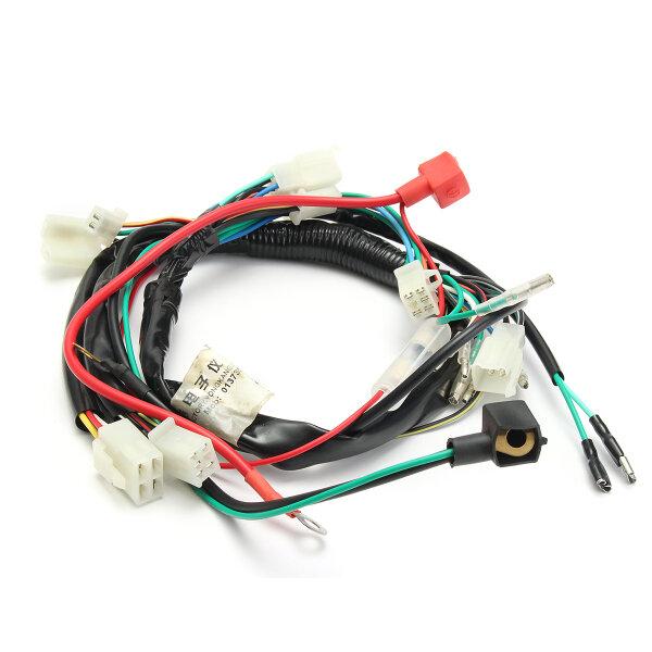 electric engine start wiring loom harness pit bike motorcycle atv quad 70cc  90cc 110cc 125cc sale - banggood.com  banggood