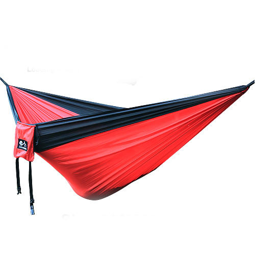IPRee® 270x140CM Outdoor Portable Double Hammock Parachute Hanging Swing Bed Camping Hiking