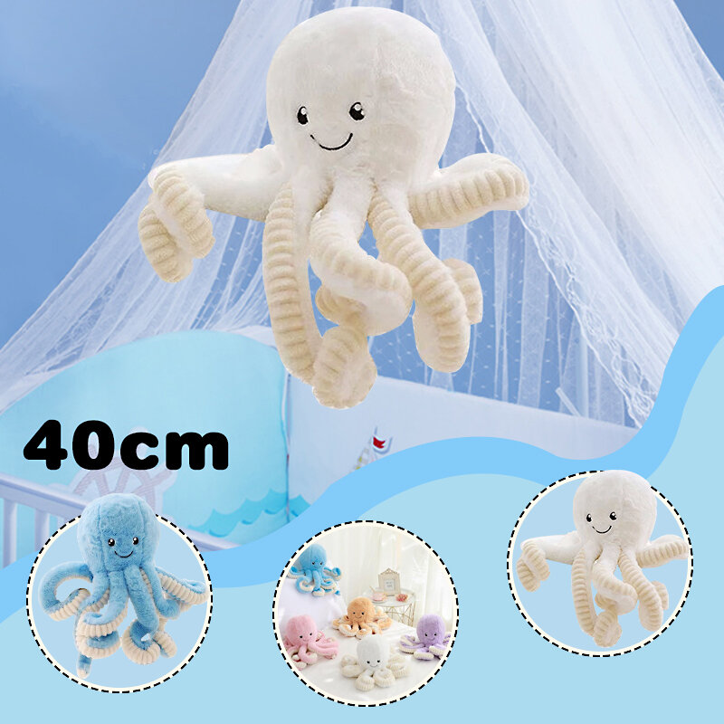 Cute Octopus Plush Toy Octopus Whale Dolls & Stuffed Plush Toys Sea Animal Toys For Children Xmas Gift