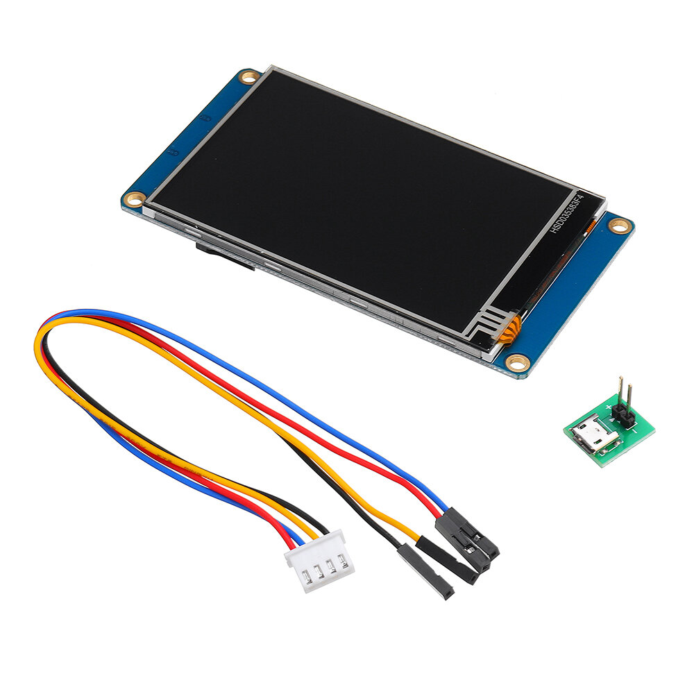 Banggood coupon: Nextion NX4832T035 3.5 Inch 480x320 HMI TFT LCD Touch Display Module Resistive Touch Screen