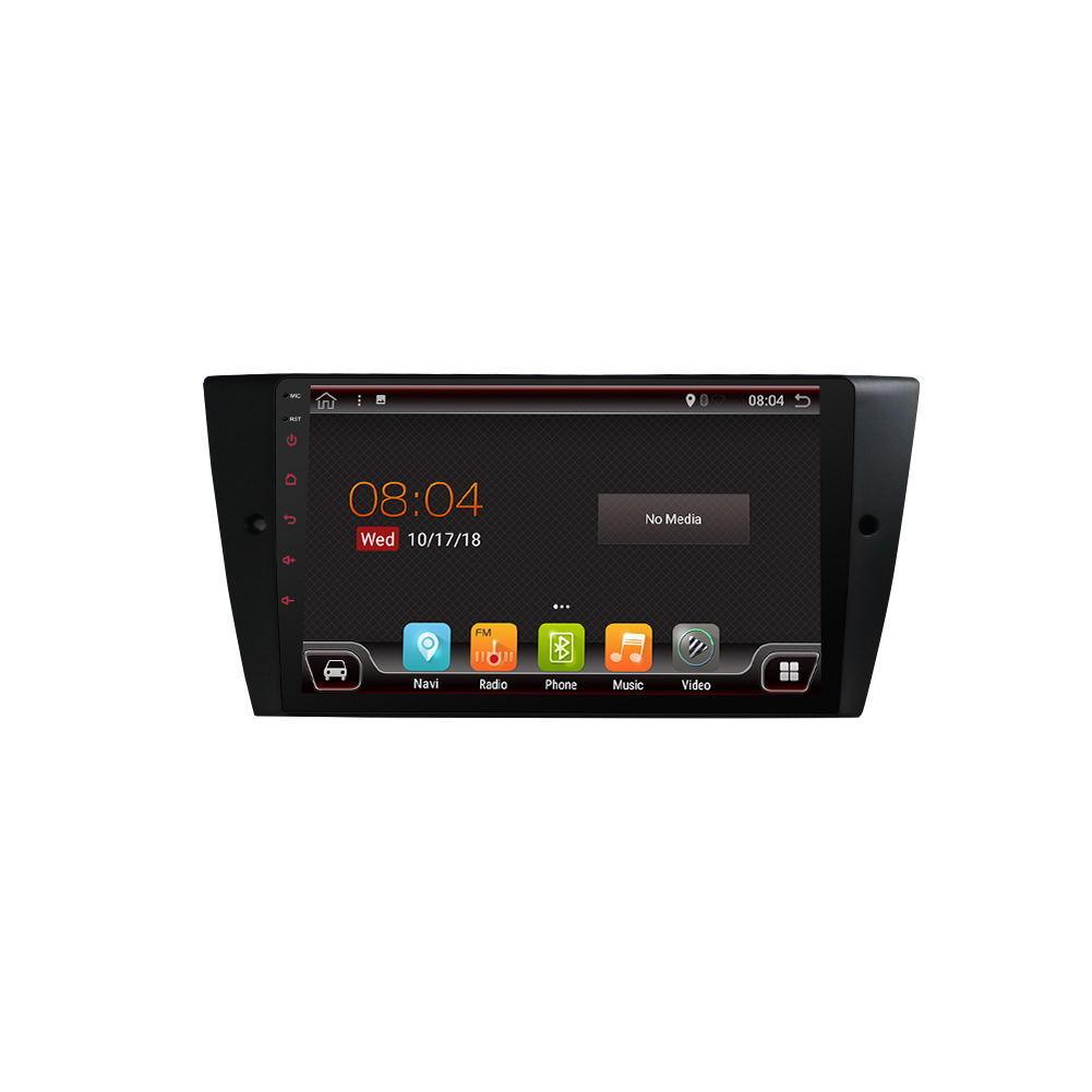 PX6 9 Zoll 2DIN Für Android 9.0 Auto MP5 Touchscreen GPS Bluetooth 6 Core 4 + 64G Für BMW E90 E91 E92 E93 05-12