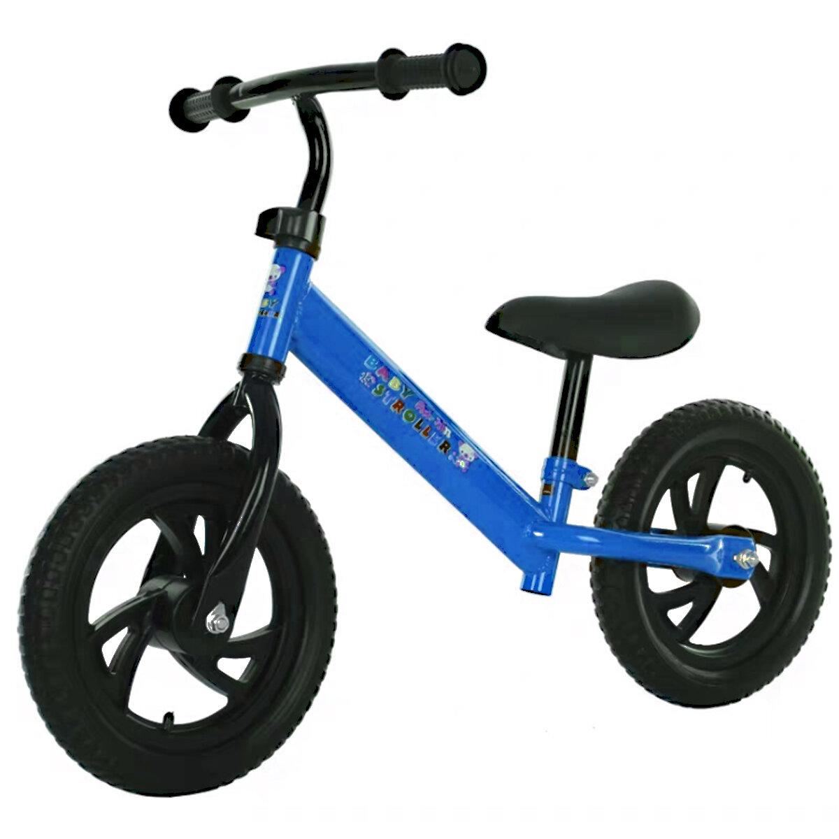 12inch Kids Bike No Pedals Adjustable Children Toddler Training Riding Walking Toys