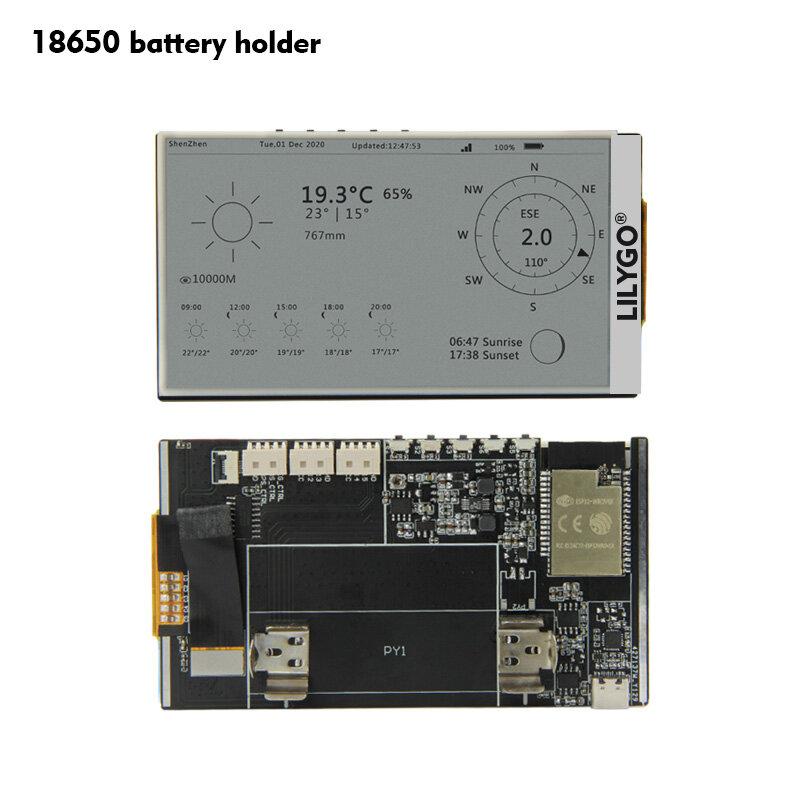 Картинка - LILYGO® T5 Экран для электронной бумаги 4,7 дюйма ESP32 V3 Версия 16 МБ FLASH 8 МБ PSRAM WIFI Bluetooth Дисплей Модуль