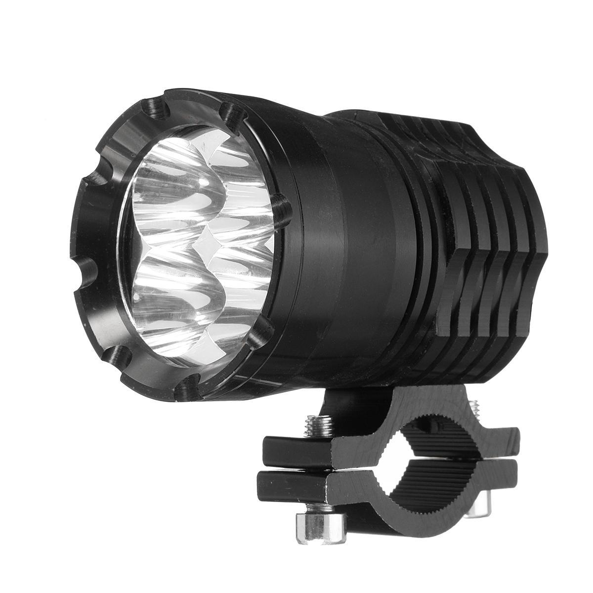 12V-80V U21 40W אופנוע LED ספוט אור פנס ערפל נהיגה מנורה לבן