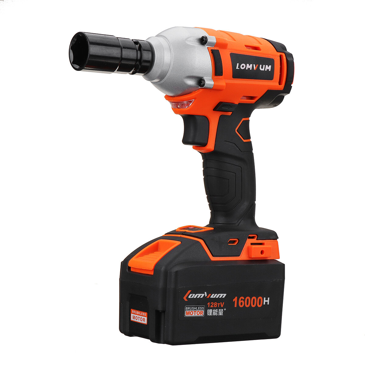 """1//2/"""" High Torque Impact WrenchCordless Impact Wrench Lithium-Ion Battery USA"""