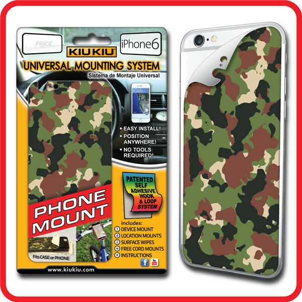 KIUKIU Multi Purpose Magic Back Sticker PhonE-monteringsstativ til iPhone 6 6S
