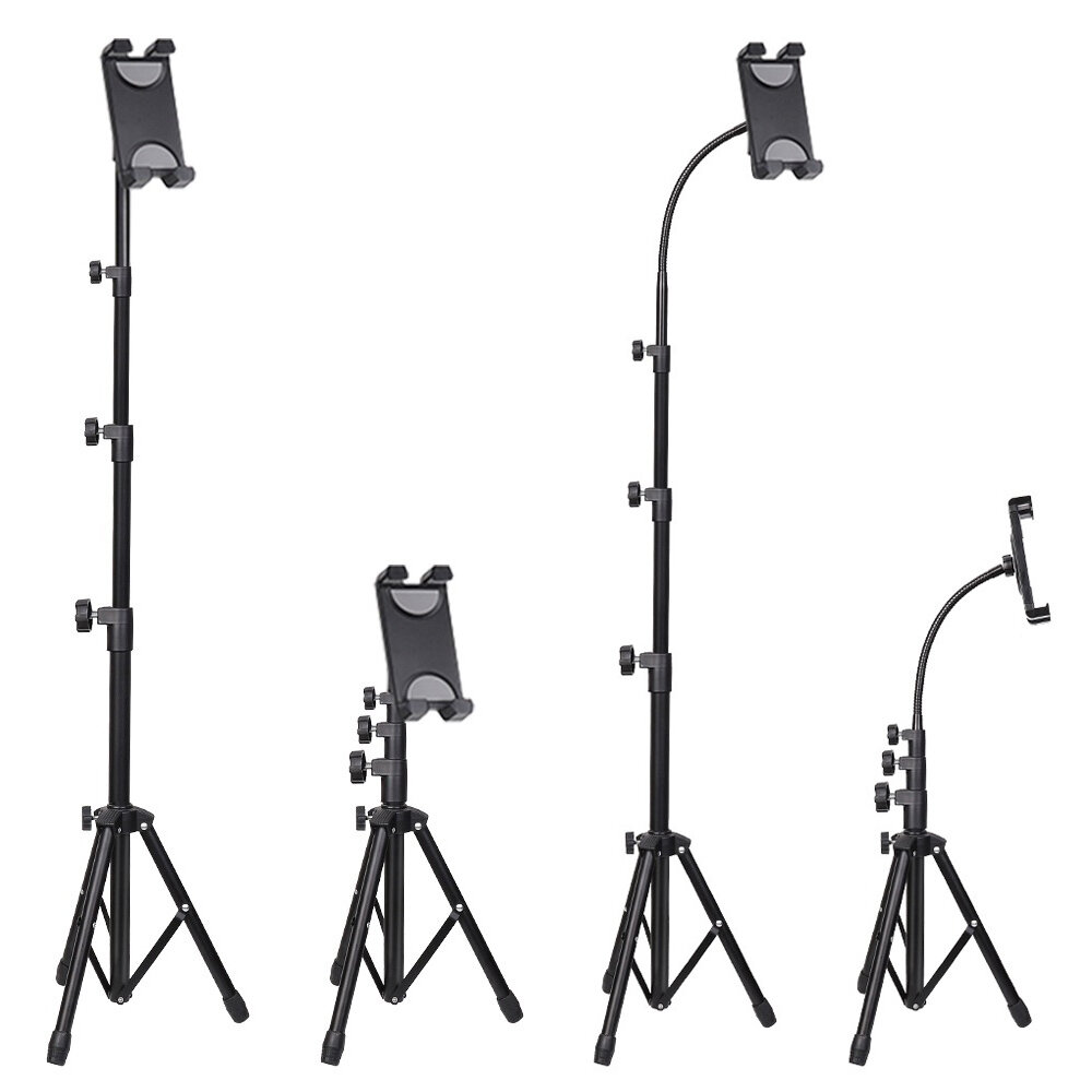 UNHO Universal 360 Rotation Flexible Telescopic 3 Modes Height Adjustable Online Learning Live Streaming Metal Tripod St, Bakeey  - buy with discount