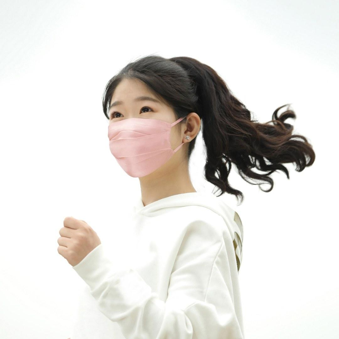 PMA 2 Pcs PMA D20 Silk Dust Mask Cycling Breath Valve PM2.5 Haze Protective Activated Carbon Mask From Xiaomi Youpin