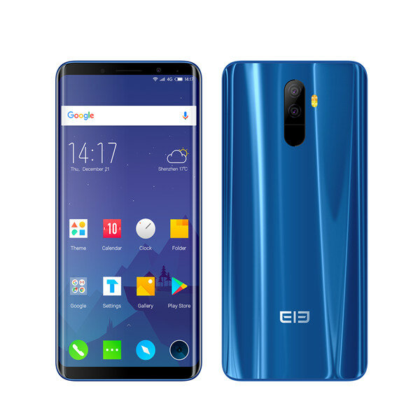 Elephone U Pro 5.99 Inch AMOLED Flexible Display 6GB RAM 128GB ROM Snapdragon 660 2.2GHz Smartphone