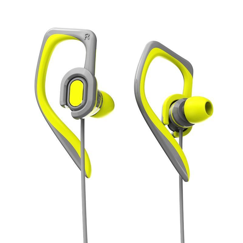 a107dd04dc4 Rock Space Y7 Stereo Sports Earphone 3.5mm Wired Control Waterproof Ear  Hook Headphone with Mic - Green COD