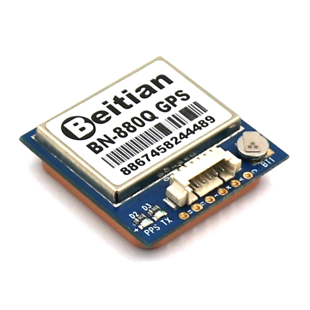 Beitian BN-880Q GPS+GLONASS Dual GPS Antenna Module FLASH TTL Level 9600bps for FPV Airplane RC Racing Drone