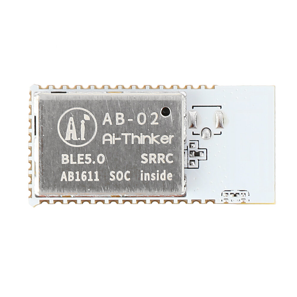 AI-Thinker AB-02 BLE Bluetooth Audio Module 5.0 DIY Module Low Power Wireless Mesh Networking