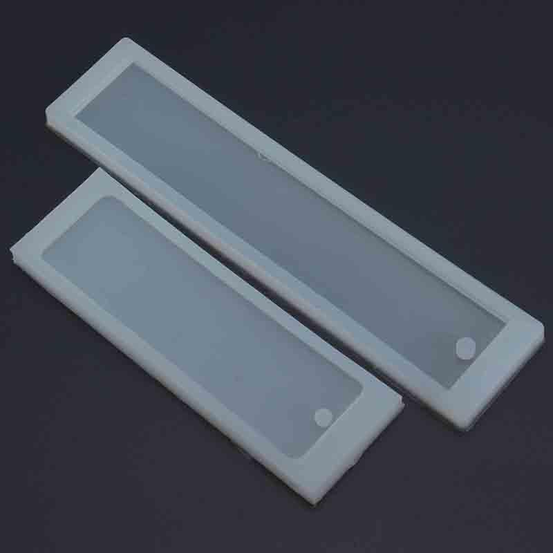 2Pcs Rectangle Silicone Mold Mould for Epoxy Resin Jewelry Bookmark DIY  Craft