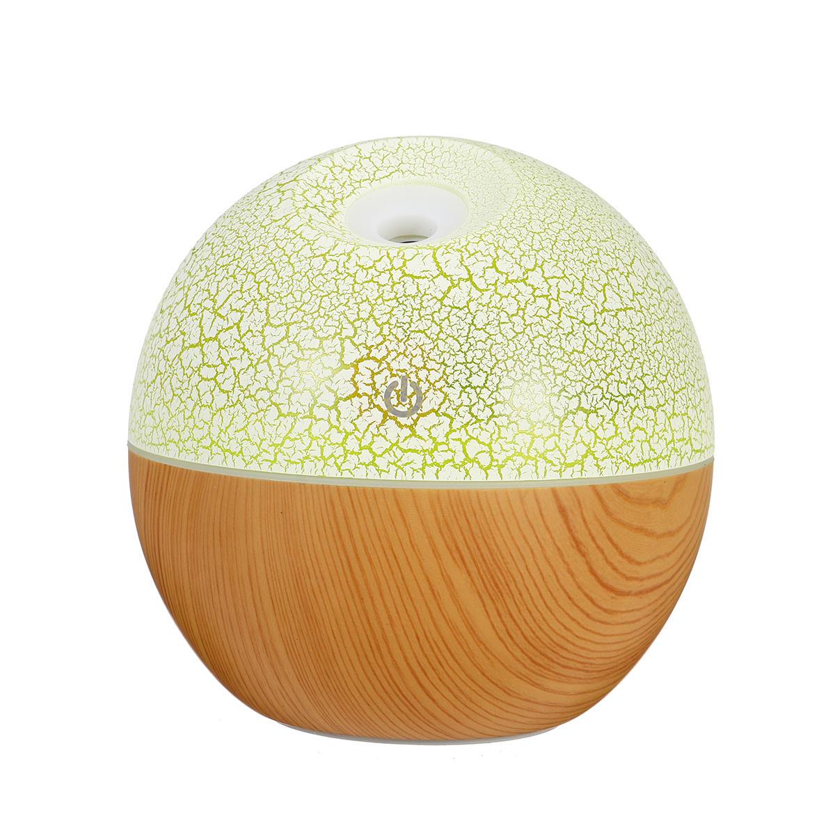 USB LED Aroma Ultrasuoni Umidificatore Aromaterapia Essential Olio Foschia Diffusore d'aria