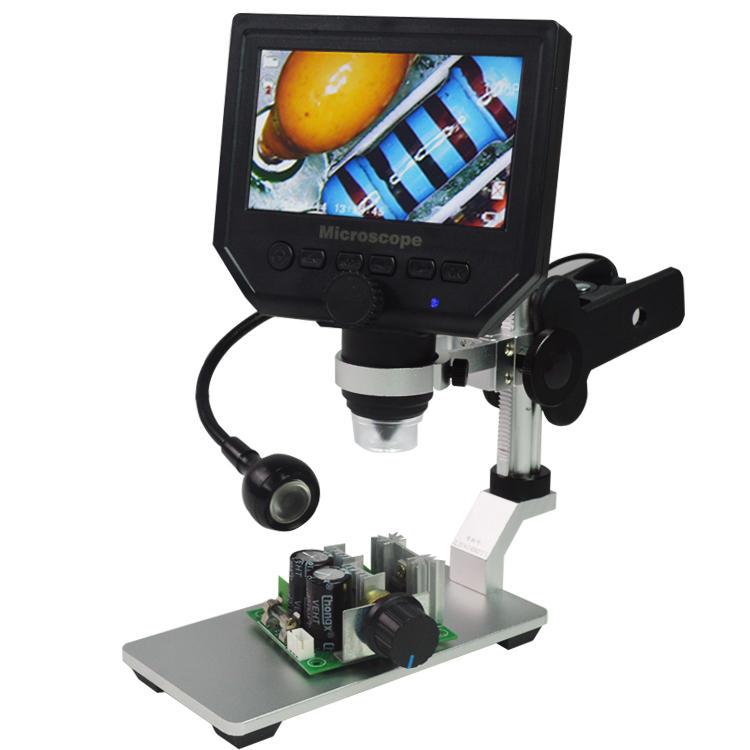 Universal Desk Clamp Lamp Table Lamp Flexible Arm Lamp for G600 Digital Microscope
