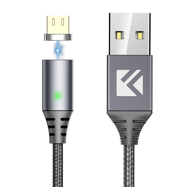 FLOVEME 2.4A Magnetic Fast Charging Data Micro USB Cable 1M For Xiaomi Redmi 5 Plus Note 5 Note 4