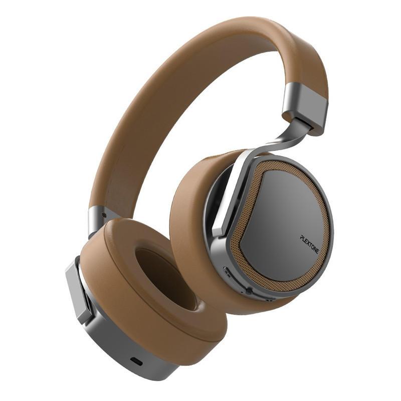 Plextone BT270 Headphone Bluetooth nirkabel 800mAh 8G RAM MP3 Headset Bass Berat untuk iPhone Samsung