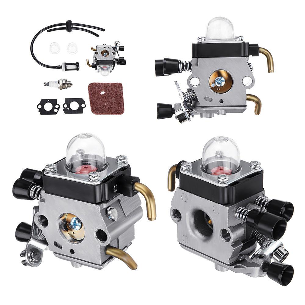 Carburettor Carb embly Kits for STIHL FS38 FS45 FS46 55 55R Air Fuel on