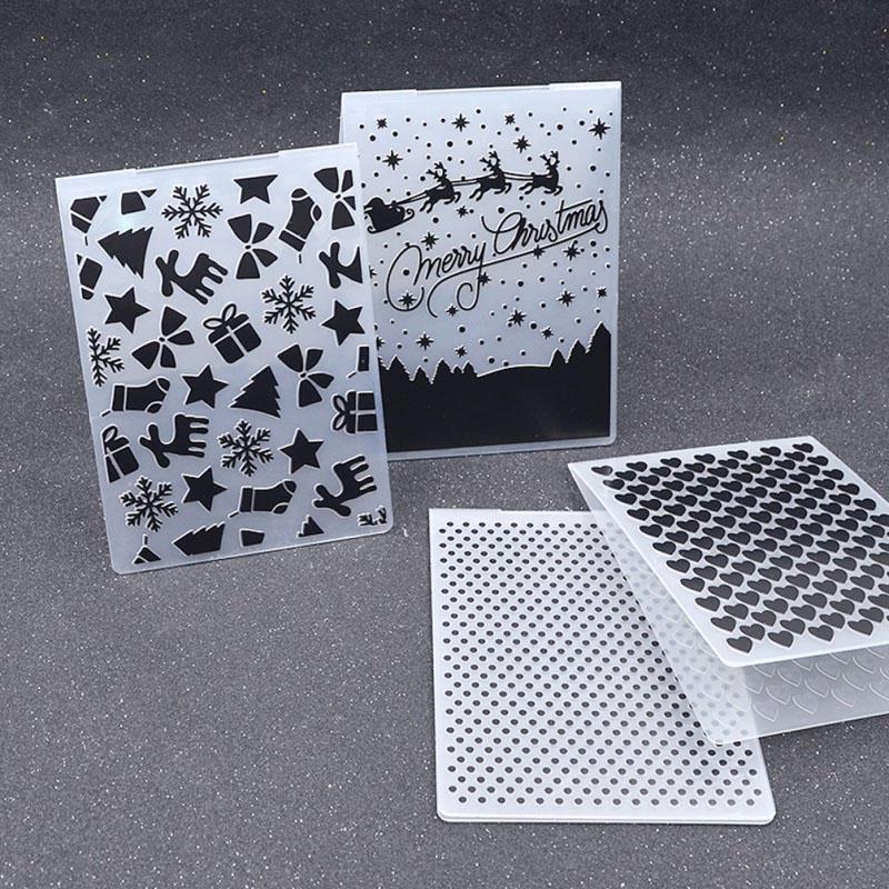 1X Christmas Transparent Silicone Stamp Seal DIY Scrapbooking Photo Album Decor