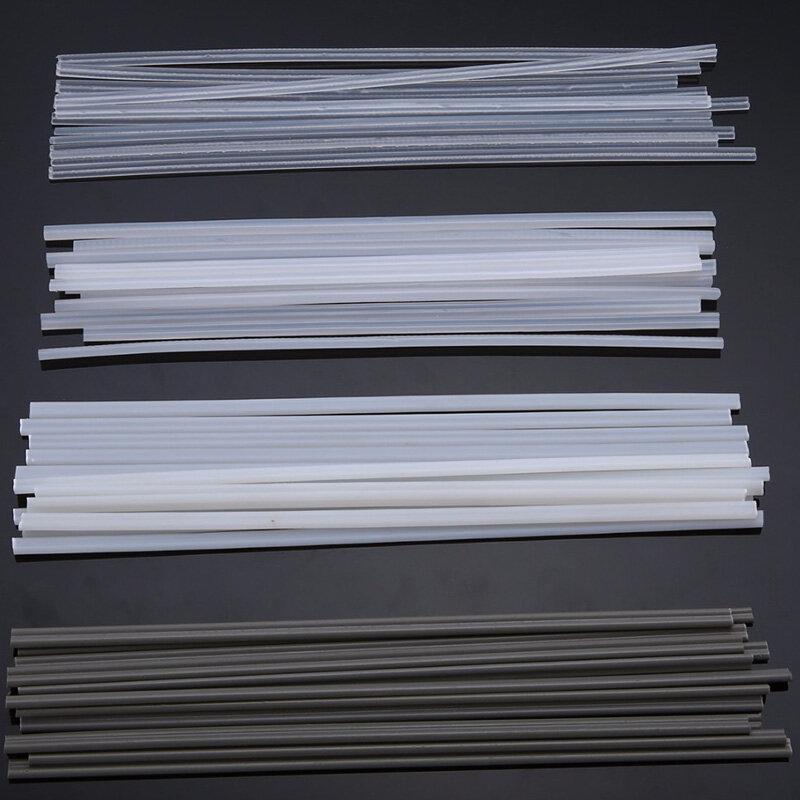 50 पीसीएस प्लास्टिक वेल्डिंग रॉड्स एबीएस / पीपी / पीवीसी / पीई वेल्डिंग प्लास्टिक वेल्डिंग के लिए 200