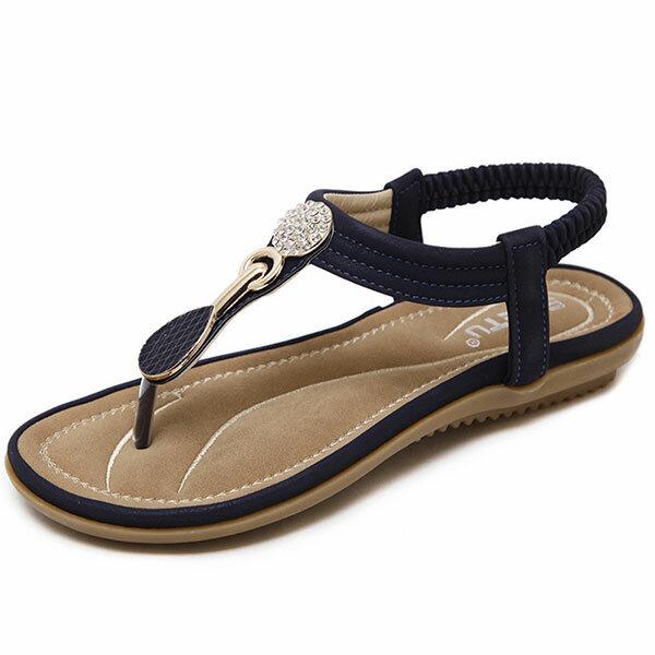 Formato degli Stati Uniti 5-11 Donne Casual Sole Soft Beach Sandali esterni