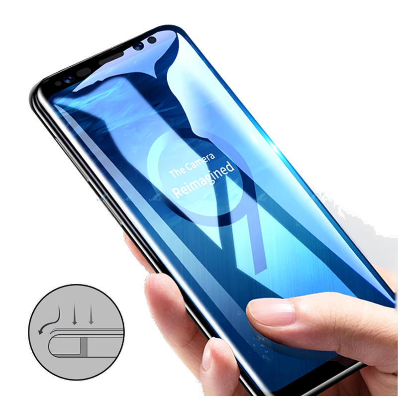 hot sale online de250 4c254 Bakeey 5D Curved Edge Tempered Glass Screen Protector for Samsung Galaxy  S9/S9 Plus