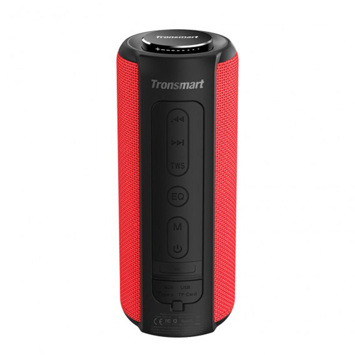 Tronsmart Element T6 Plus Portable 40W bluetooth 5 0 Speaker Tri-Bass IPX6  Waterproof TWS Stereo SoundPulse Loudspeaker