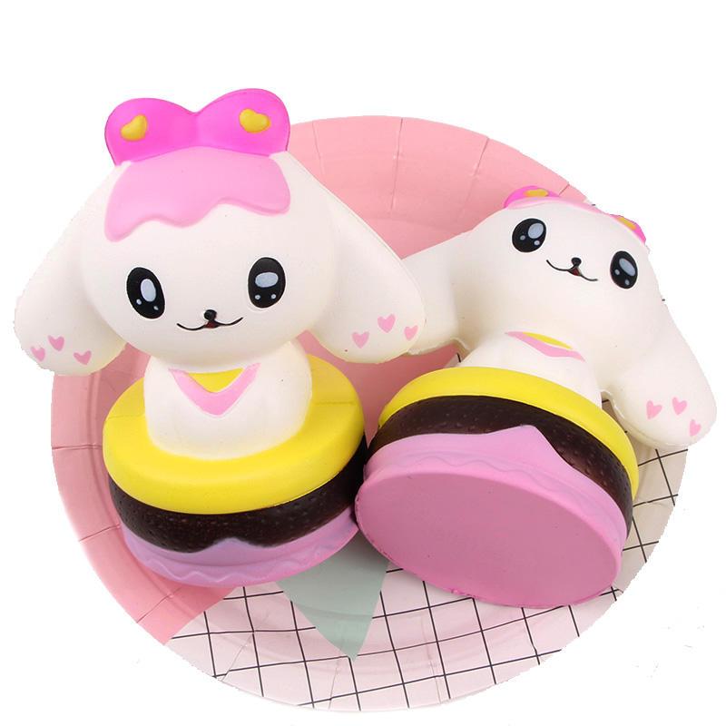Sanqi Elan Squishy Princess Dog 15cm Slow Rising Rebound Jumbo Gift Toys With Packaging