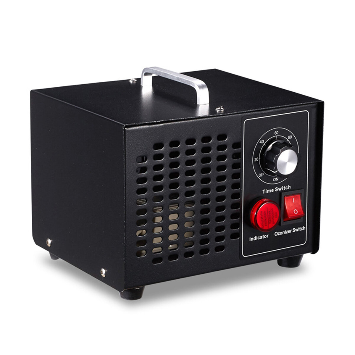 AC110V / 220V 3.5G Ozone Generator Portable Home Ozone Air Disinfector Air Purifier with Timer