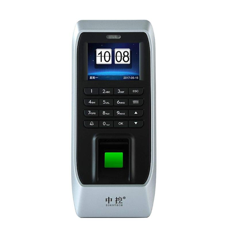 ZOKOTECH ZK-FP70 Fingerprint Password ID Card Recognition Access Control  System Time Attendance Machine Electric Lock Control for Office Community