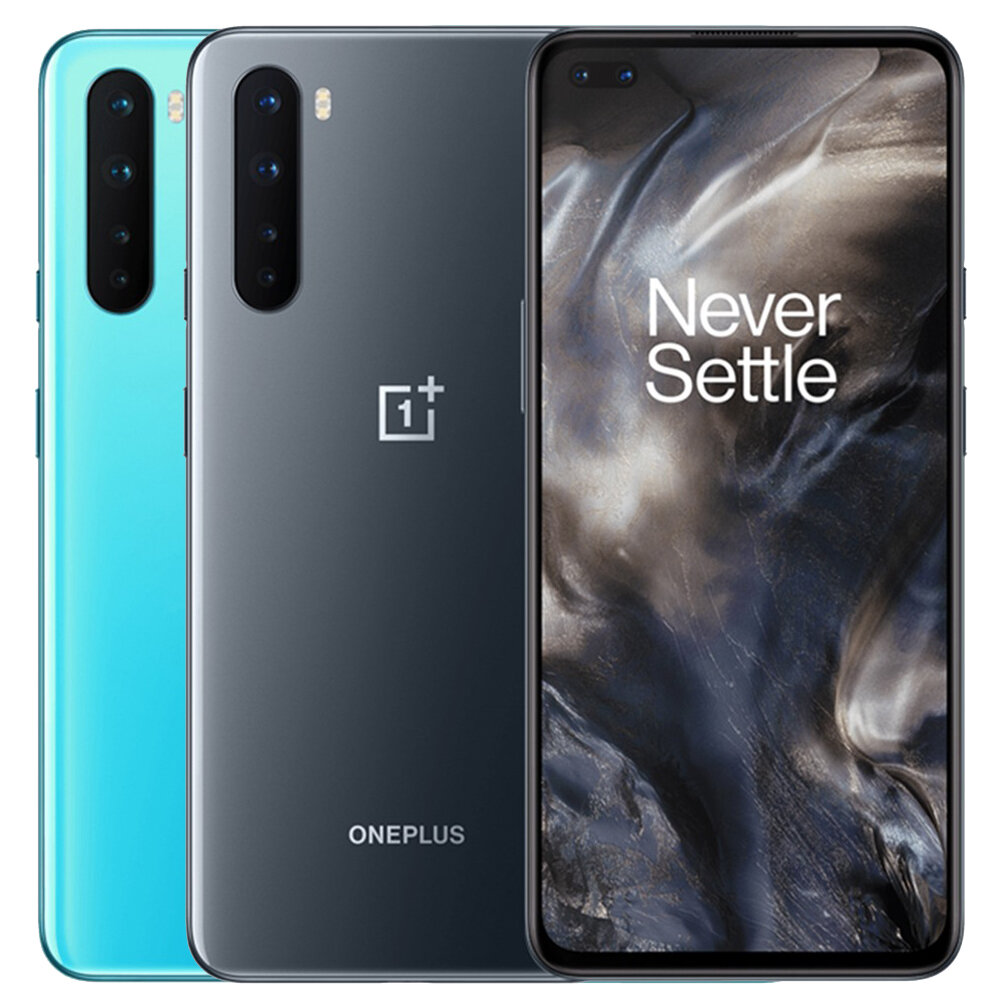OnePlus Nord Global Version 5G 6.44 inch FHD+ 90Hz Refresh Rate HDR10+ NFC Android 10 4115mAh 32MP Dual Front Camera 8GB 128GB Snapdragon 765G Smartphone