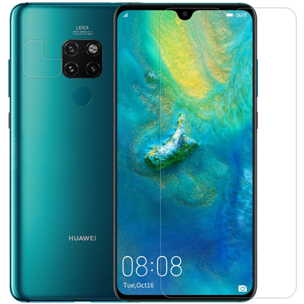 NILLKIN Matte Chống trầy xước Chống vân tay Bảo vệ màn hình + Ống kính cho Huawei Bạn đời 20