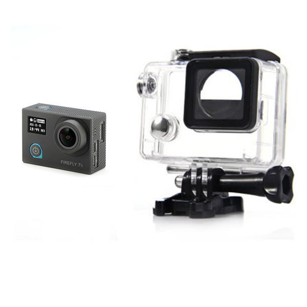 Hawkeye Firefly Spare Part 30M Diving Camera Waterproof Case for 7S 8 8S 8SE 4K 170 Degree Wide Angle Version