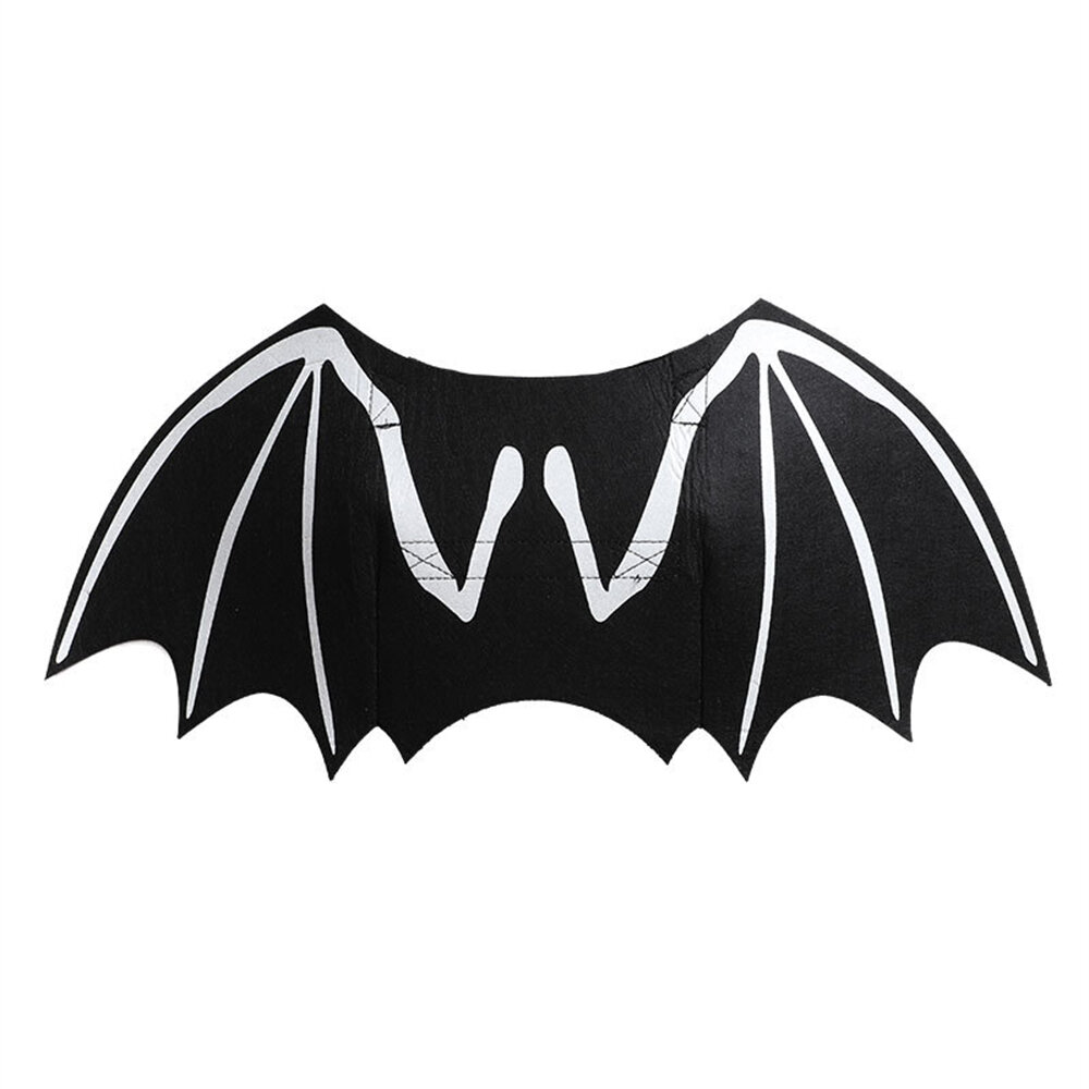 Halloween Pet Dog Bat Wings Night Reflection Halloween Christmas Costume Funny Pet Cat Party Cosplay Apparel Clothing