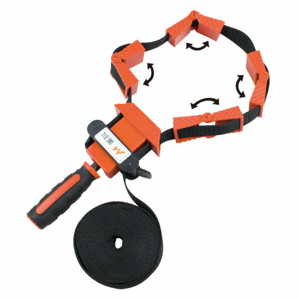 MYTEC Multifunction Belt Clamping Tools Woodworking Quick Adjustable Band Clamp Polygonal Clip 90 Degrees
