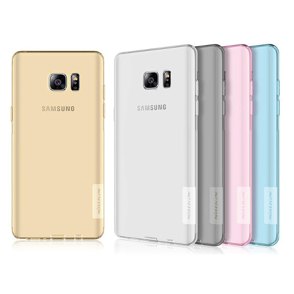 premium selection 4206c cfc06 NILLKIN Transparent Soft TPU Back Cover for Samsung Galaxy Note 7